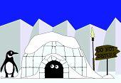 Ende des Eskimo Winter.