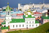 Church Of The Nativity John Precursor And River Volga