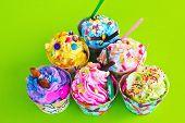 Colorful Of Cupcake