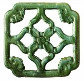 Green Antique Chinese Tile