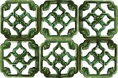 Green Antique Chinese Tiles