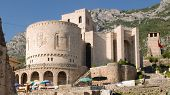 National Museum Skanderbeg and Clock Tower in the castle of Kruja, Albania