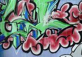 Urban Graffiti Abstract