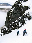 Mountaineers Descending