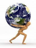 Earth Over Shoulder
