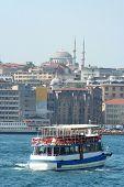 vessel in Bosporus -istanbul
