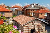 Roof Of Houses In Ancient City Of Nessebar, Bulgaria
