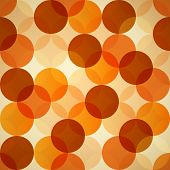 Seamless Circles Abstract Background