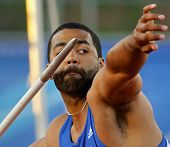 Javelin Throw Male Athlete Canada