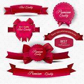 Conjunto de qualidade Superior e satisfação garantia fitas, etiquetas, Tags. Estilo vintage retrô