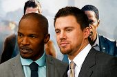 NEW YORK-JUNE 25: Actor's Channing Tatum and Jamie Fox attend the domestic premiere of