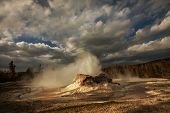 Castle-Geysir im Yellowstone NP, USA