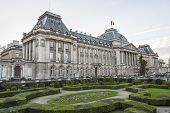 Belgian Royal Palace In Brussels