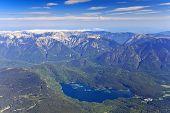 Eibsee lake, Bavaria, Germany