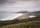 Doninos Beach In Ferrol, Galicia, Spain.