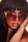 East Girl In Sunglasses.