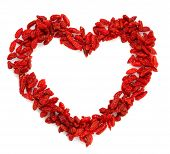 Goji Berryes Heart Shape Bright Red Color