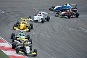 MOSCOW - JUNE 23: Formula Renault 2.0 race at World Series by Renault in Moscow Raceway on June 23,
