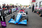 MOSCOW - JUNE 23: Oliver Rowland of Manor MP Motorsport team (NED) finish first at Formula Renault 2