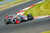 MOSCOW - JUNE 23: Nico Muller of International Draco R team (POR) race at Formula Renault 3.5 race a