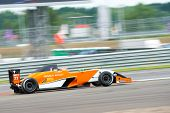 MOSCOW - JUNE 23: Jack Aitken of Manor MP Motosport team (NED) race at Formula Renault 2.0 race at W