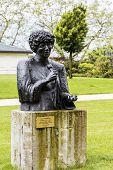 Statue To Ella Fitzgerald In Montreux