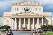 MOSCOW - SEP 17: Beautiful building of the Bolshoi Theatre on September 17, 2012 in Moscow, Russia.
