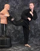 Kicking The Dummy