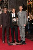 LOS ANGELES - JUN 24:  Johnny Depp, Jerry Bruckheimer, Bob Iger at  the Jerry Bruckheimer Star on th