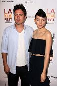 LOS ANGELES - JUN 15:  Rooney Mara, Casey Affleck arrives at the