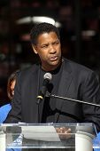 Denzel Washington  at a Boys And Girls Clubs Of America Announcement With Denzel Washington And Jenn