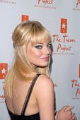 Emma Stone at Trevor Live, benefitting the Trevor Project, Hollywood Palladium, Hollywood, CA. 12-05-10