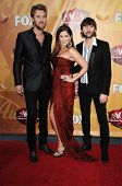 Lady Antebellum at the 2010 American Country Awards Arrivals, MGM Grand Hotel, Las Vegas, NV. 12-06-10
