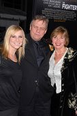 Chelsea Hamill, Mark Hamill and Marilou York  at