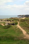 Pointe Du Hoc In The Normandy Region Of France.