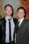Neil Patrick Harris, David Burtka at the