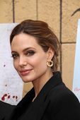 Angelina Jolie at the Golden Globe Foreign-Language Nominees Seminar, Egyptian Theater, Hollywood, C
