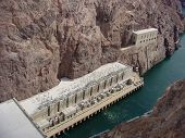 Power Plant At Base Of Hoover Dam