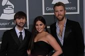 Lady Antebellum at the 54th Annual Grammy Awards, Staples Center, Los Angeles, CA 02-12-12