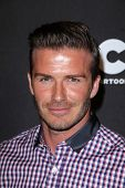 David Beckham at the Cartoon Network Hall of Game Awards, Barker Hangar, Santa Monica, CA 02-18-12