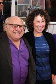 Danny DeVito, Rhea Perlman at the