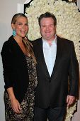 Molly Sims, Eric Stonestreet at the QVC Red Carpet Style Event, Four Seasons Hotel, Los Angeles, CA 02-23-12