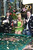 Leron Gubler, Tinker Bell, Bradley Raymond at Tinker Bell's Star on the Hollywood Walk of Fame, Hollywood, CA. 09-21-10