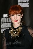 Florence Welch at the 2010 MTV Video Music Awards Press Room, Nokia Theatre L.A. LIVE, Los Angeles, CA. 08-12-10 at the 2010 MTV Video Music Awards, Nokia Theatre L.A. LIVE, Los Angeles, CA. 08-12-10