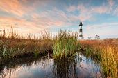Bodie Island Lighthouse North Carolina Marsh Landscape
