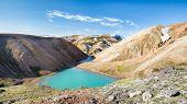 Alpine Lake, Landmannalaugar Trail, Laugavegurinn, Iceland