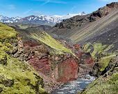 Sydri - Emstrua canyon, Landmannalaugar Trail, Laugavegurinn, Iceland