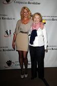 Katherine Heigl and mother Nancy Heigl at a Press Conference For JDHF Animal Advocacy, Four Seasons Hotel, Beverly Hills, CA. 09-23-10