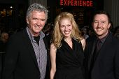Patrick Duffy with Son and Daughter in law  at the