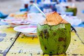 Coconut Water Drink.